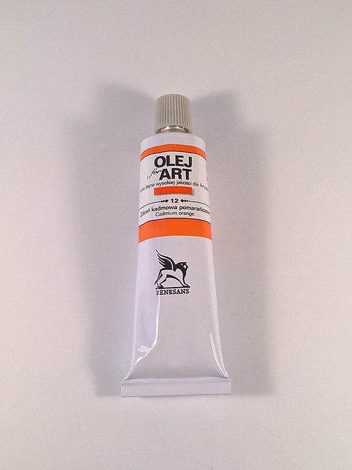 RENESANS Маслена боя 60 ml, 012CadmiumOrangeYellow