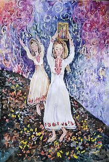 Мелани Александрова 10г Нестинарски танц