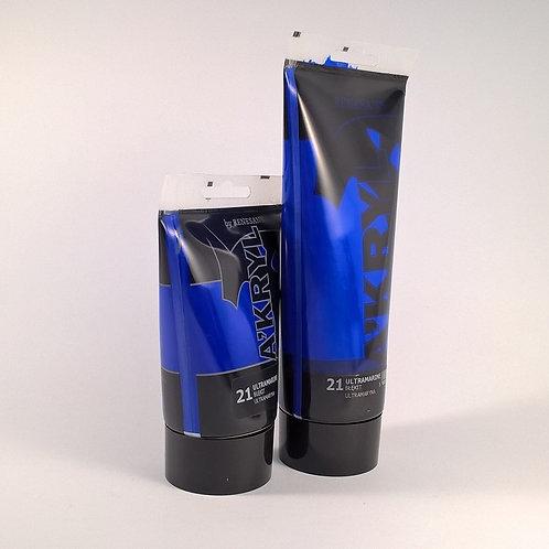 RENESANS A'kryl Satin, 021 Ultramarine Blue,