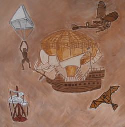 Летящите изобретения на Леонардо