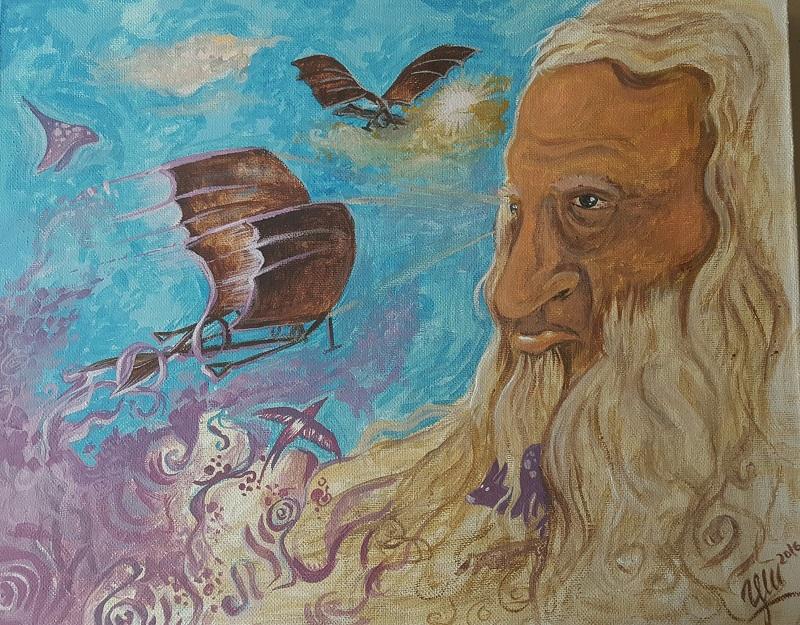 Леонардо-творец без граници