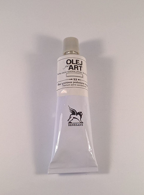 RENESANS Маслена боя 60 ml, 053 WhiteDoubleOpaque