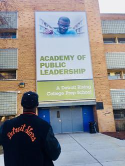 11 Detroit Schools 1 day