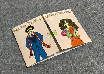 Tanya Wedding Card