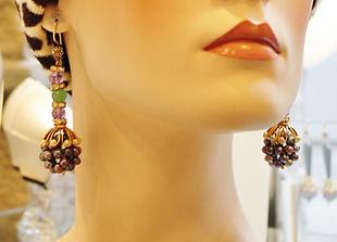 Ali Al Awssi design earrings