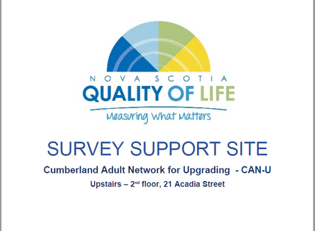 Have you received a Quality Of Life Survey? CAN-U is a Survey Support Centre. Call CAN-U today!
