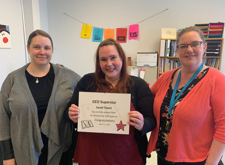 CAN-U student achieves their GED!!