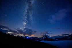 マッターホルン 星景