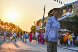 ベトナム ホイアンの商人