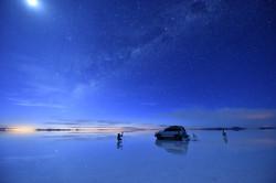 ウユニ星景