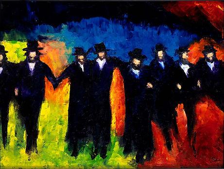 Dancing Chassidim