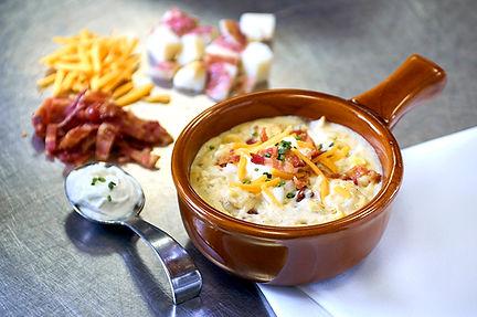 Cheddar Chaeese, Bacon & Potato Soup