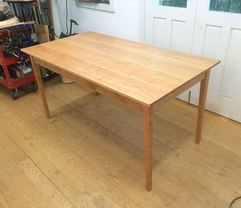 Phoebe's table in shop