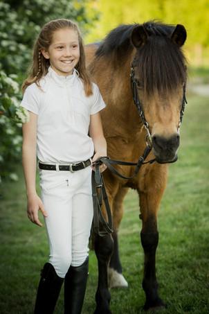 Hest portræt
