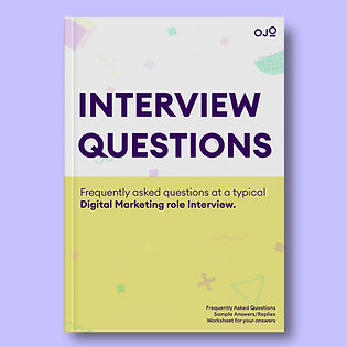 Interview Questions: Digital Marketing