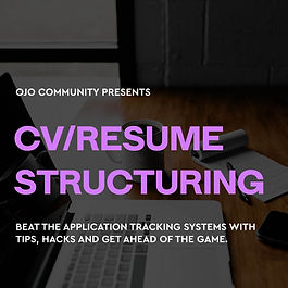 CV Structuring Course