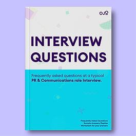 Interview Questions: PR & Communications