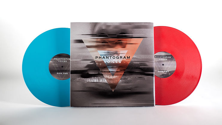 Phantogram Voices Album Vinyl Packaging Design Concept