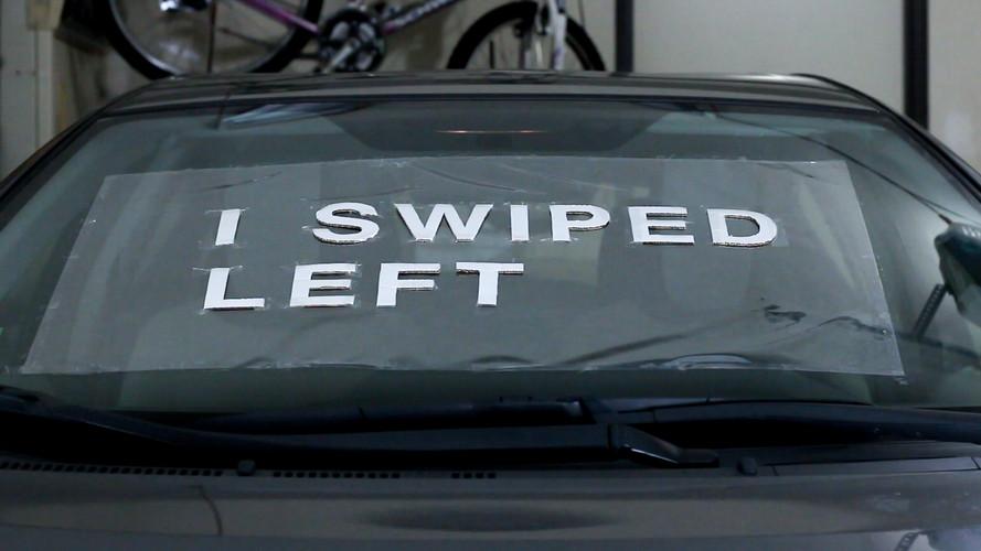 Swiped Left Stencil