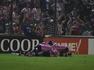 Final del primer tiempo: vamos ganando #ElPartidoDeNuestrasVidas