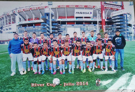 Equipo Campeon River Cup 2014