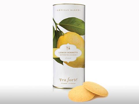 Tea Forte Loose Cookie label design