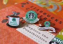 Starbucks Lapel Pins