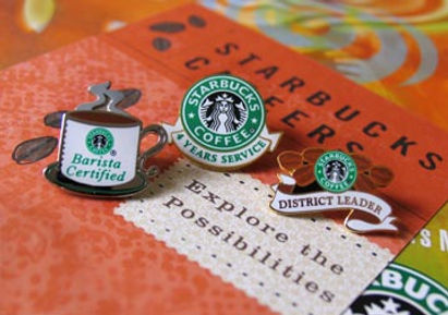 Starbuck Lapel Pin