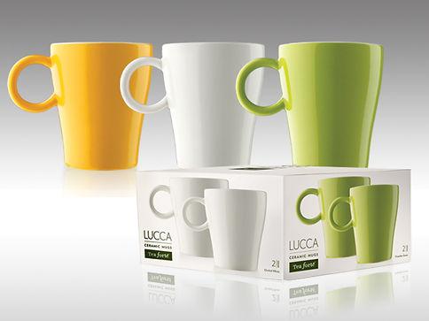 Tea Forte Lucca cups Design & Photography