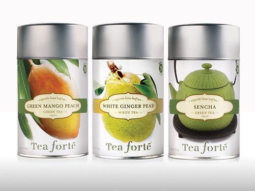 Tea Forte Loose Tea Tins Design