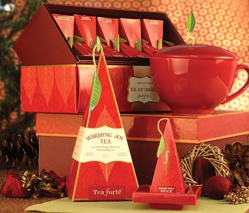 Tea Forte Holiday Tea Photography