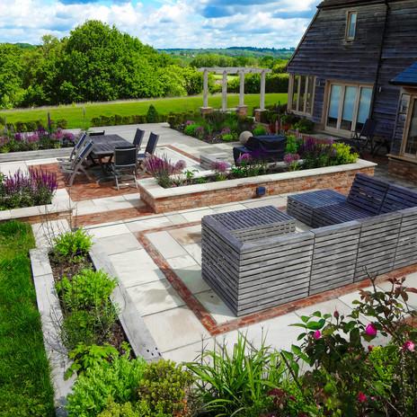 Modern Garden Design in Sussex