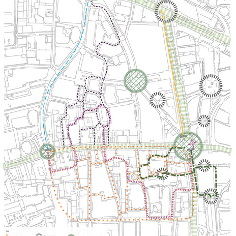 Activity Mapping around Holborn Viaductorn