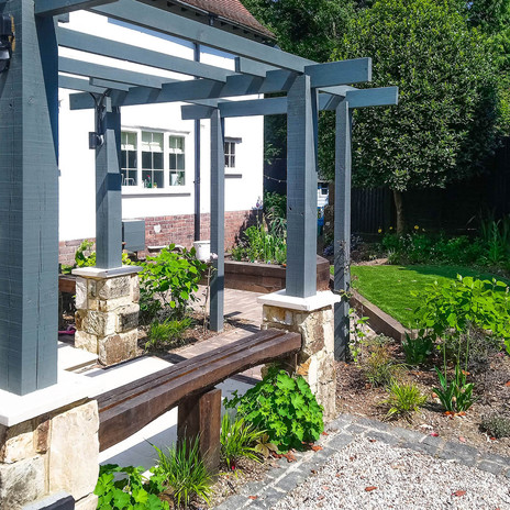Sussex Front Garden Design & Build