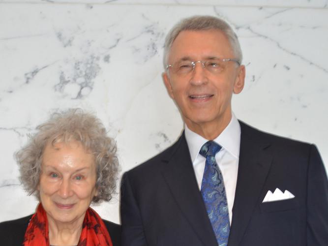 SDG and Margaret Atwood.JPG
