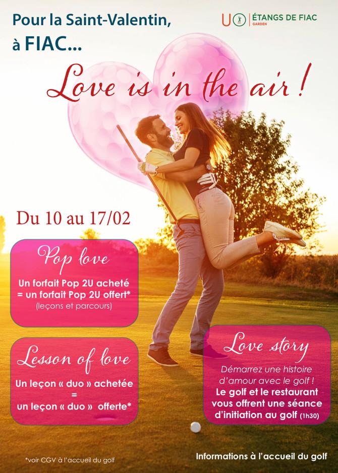 Pour la Saint-Valentin à Fiac !