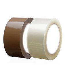 Fitas adesivas transparente ou marrom 48