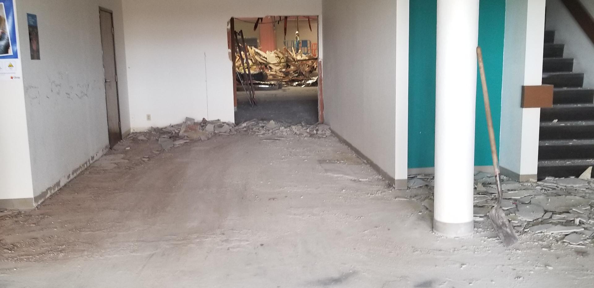Interior Office walkway