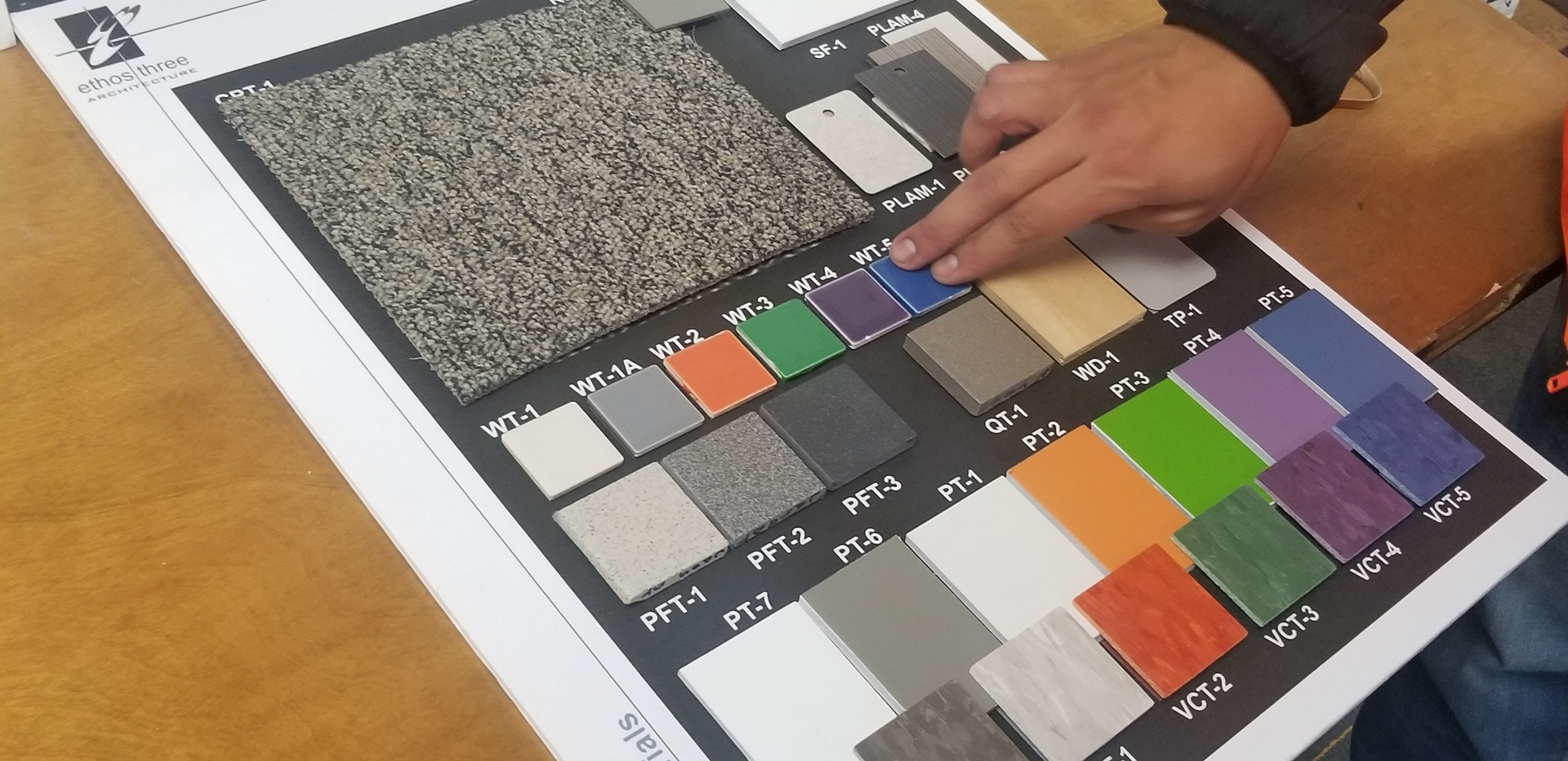 Colors for flooring and walls