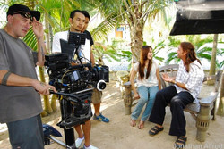 On location in Thailand