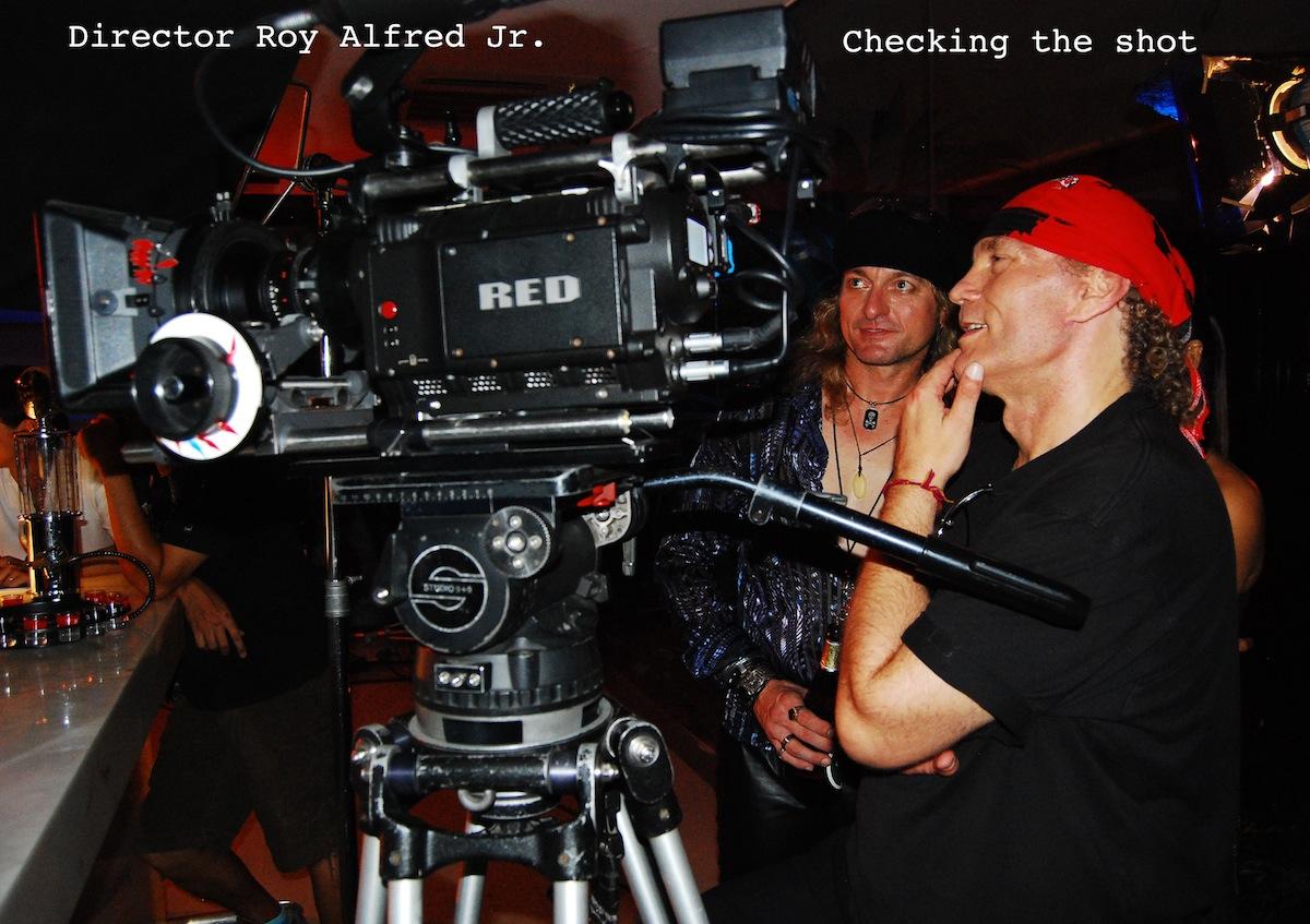 Roy on set.jpg