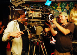 AC working the RED camera