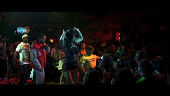 Tawn performing in club Lucifer