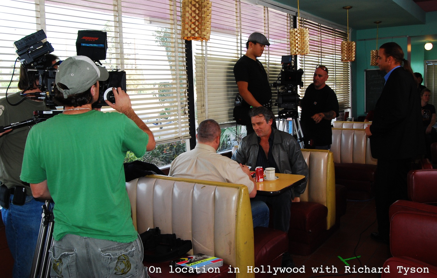 Hollywood cafe location