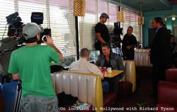 Hollywood cafe location