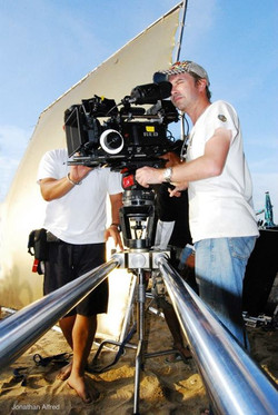 Wade Muller on the B camera