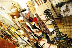 A lot of guitars!