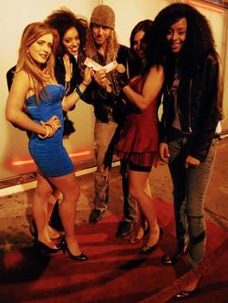 Brian Shakti with the ladies!