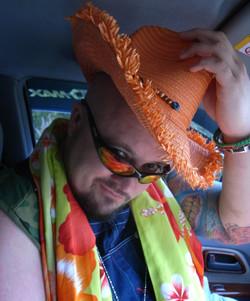 J Scott in costume