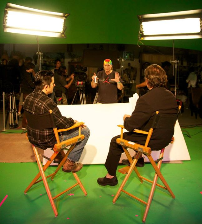 Roy Alfred Jr. directing